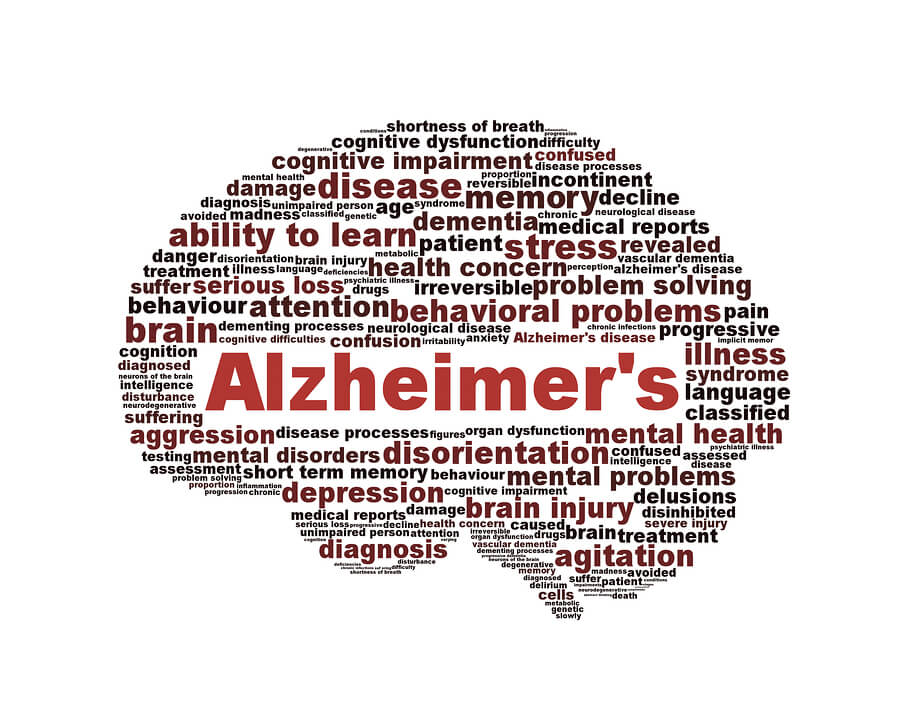 The Spreading of Alzheimer's Disease Through the Brain